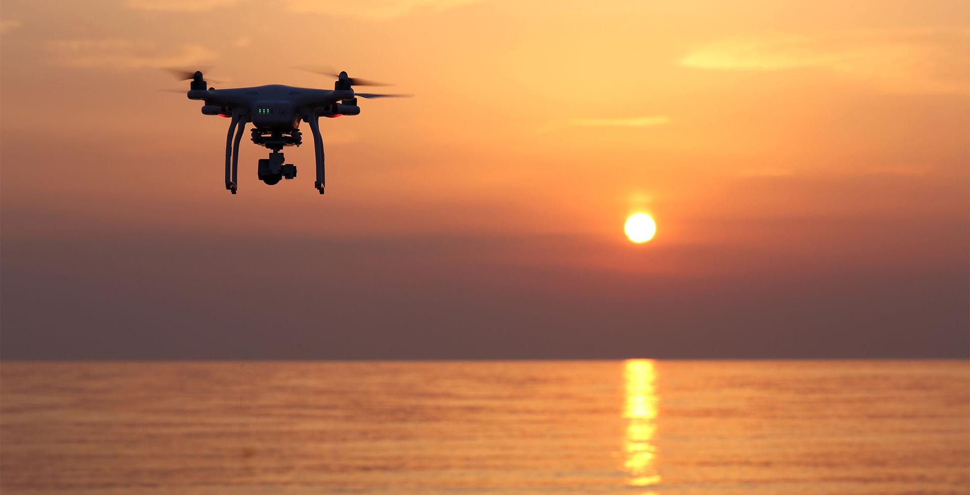 Drohne Header