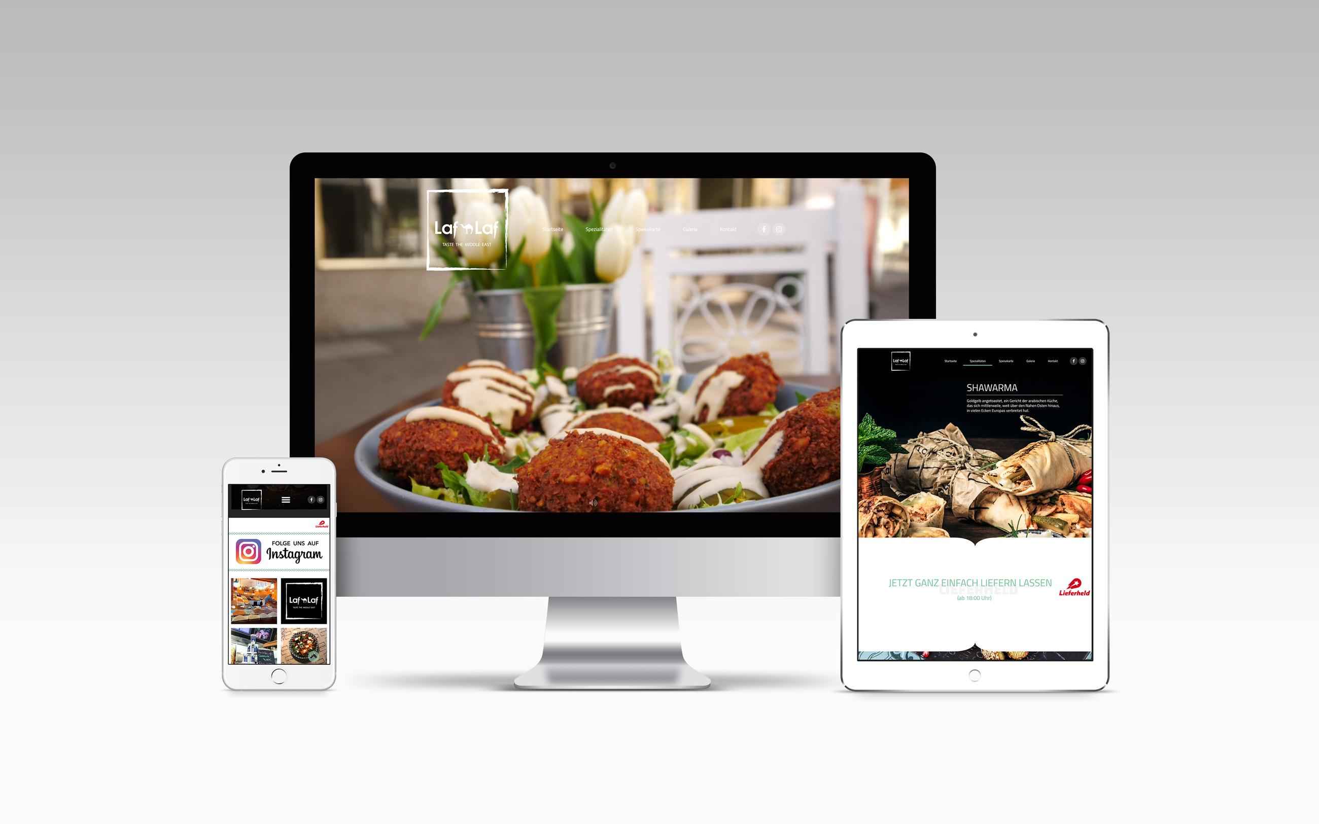 Laf Laf Webseite