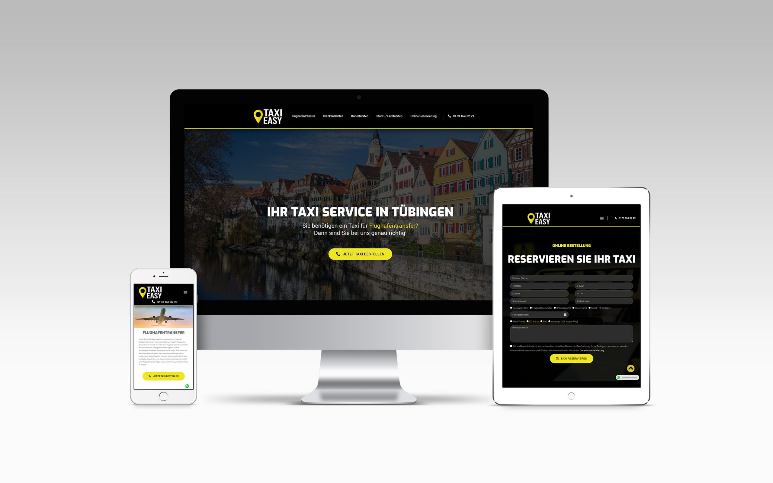 taxi easy webseite