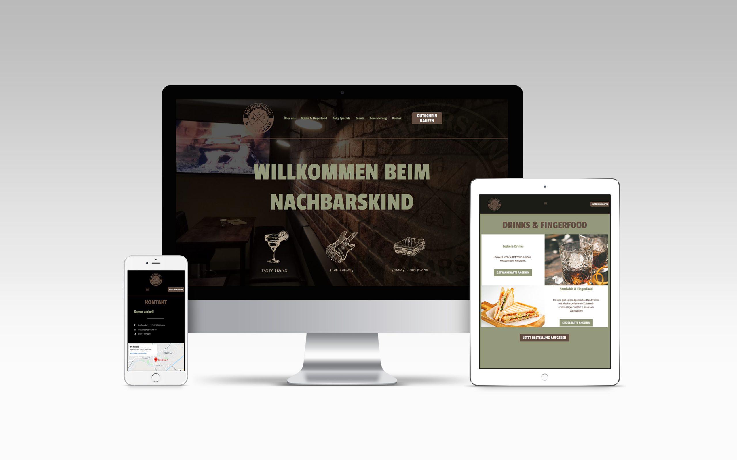 Nachbarskind Webseite