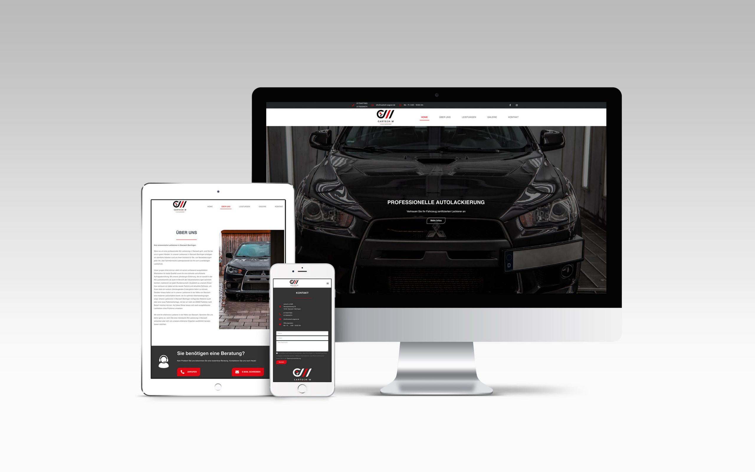 Cartech Wagner Webseite
